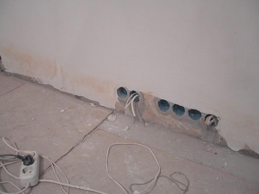 схема электропроводки в домах серии 1-515/9ш