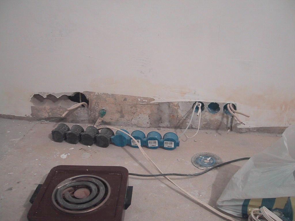 Двухкомнатная квартира в панельном доме схема электропроводки.